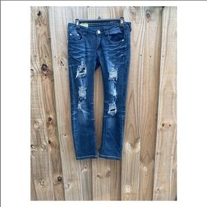Machine Nouvelle Mode distressed jeans 30
